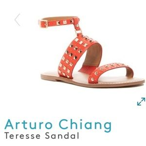 Arturo Chiang teresse leather sandals